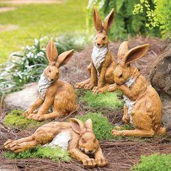 Rabbit Garden Sculpture