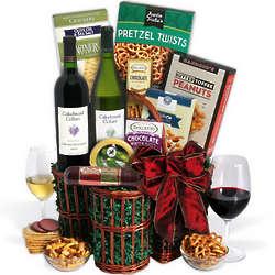 Cakebread Duo Wine Gift Basket