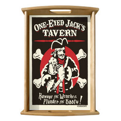 One Eyed Jack Serving Tray
