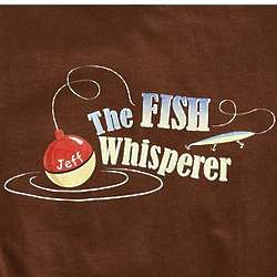 Personalized Fish Whisperer T-Shirt