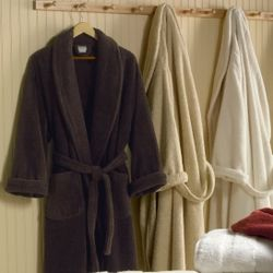 Monogrammed Catalina Egyptian Cotton Terry Luxury Bathrobe