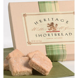 Heritage Shortbread Lemon Shortbread Cookies