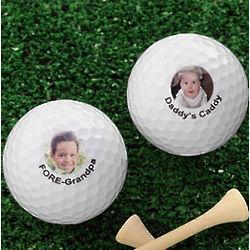Personalized Nike Mojo Photo Golf Balls