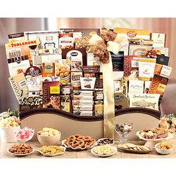 Grand Gourmet Snack Basket