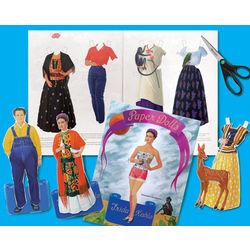 Frida Kahlo Paper Dolls Book