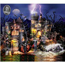 Universal Studios Monsters Halloween Village Set