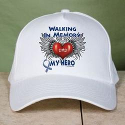Walking In Memory of Personalized ALS Hat