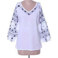 Midnight Bloom Cotton Tunic