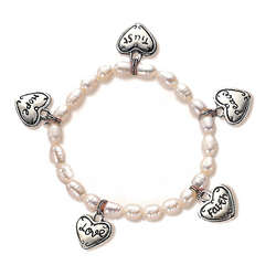 Child's Charm Prayer Bracelet