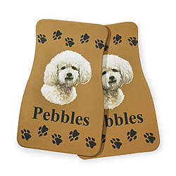Personalized Dog Breed Car Mats