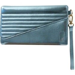 Metallic Tone Wallet Clutch