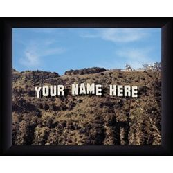 Personalized Hollywood Sign