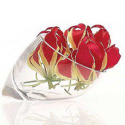 Elegant Glass Bud Vase