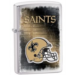 Personalized New Orleans Saints Zippo Lighter