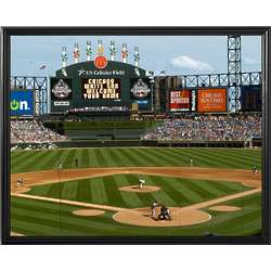Personalized Chicago White Sox Scoreboard 16x20 Canvas