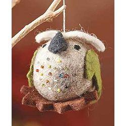 Happy Owl Ornament