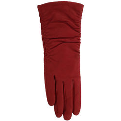 Grandoe Paris Leather and Cashmere Long Glove