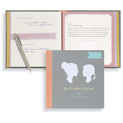 My Prudent Advice: Lessons for My Daughter Keepsake Journal