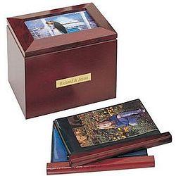 Wooden Photo Album Box