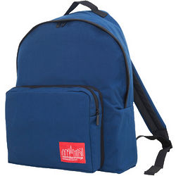 Large Big Apple Dark Blue Backpack