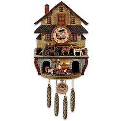 The Duke Express Cuckoo Clock