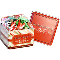 Hammond's Classic Holiday Hard Candies Tin