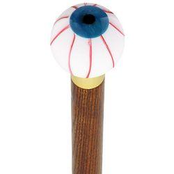 Blue Iris Bloodshot Eye Round Knob Cane
