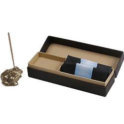 Frog King II Brass Incense Holder Set