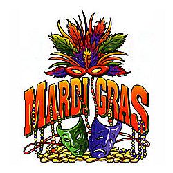 Mardi Gras-Masks T-Shirt