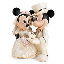 minnie 39 s dream mickey and minnie mouse wedding figurine