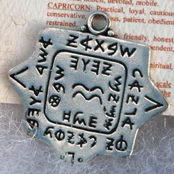 Aquarius Zodiac Sign Amulet