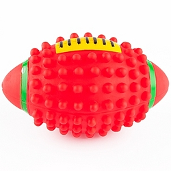 Large Vinyl Football Pet Toy