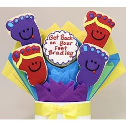Get Back on Your Feet Cookie Bouquet