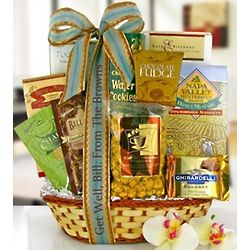 Wishes of Healing Gourmet Gift Basket