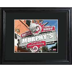 Ohio State Personalized College Hangout Print with Matted Frame