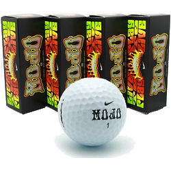 One Dozen Mojo Personalized Golf Balls