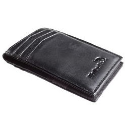 Men's Lambskin Leather Bifold Wallet