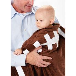 Football Plush Baby Blanket