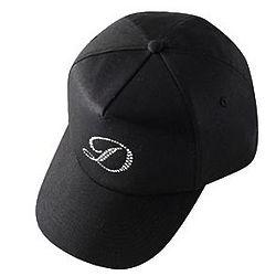 Personalized Rhinestone Initial Cap