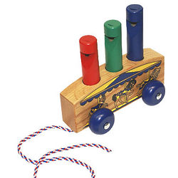 Children's Musical Pull Toy