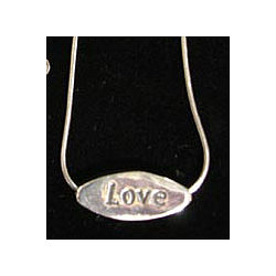 Sterling Silver Humanity Necklace