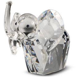 Crystal African Elephant Figurine