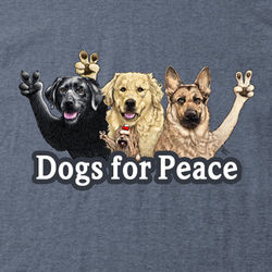 Dogs for Peace T-Shirt
