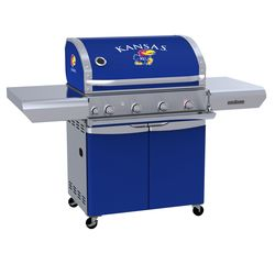Kansas Jayhawks Team Grill Patio Series MVP Gas Grill