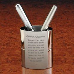 Spirit of Achievement Pen Holder
