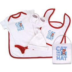 Cat in the Hat Baby Gift Set