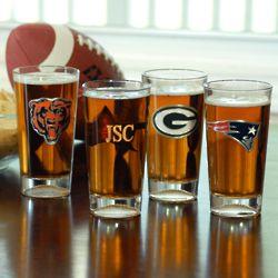 NFL Pint Glass