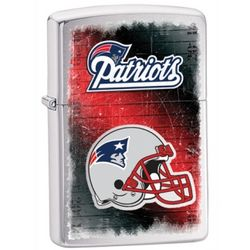 Personalized New England Patriots Zippo Lighter