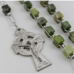 Connemara Marble Rosary Beads