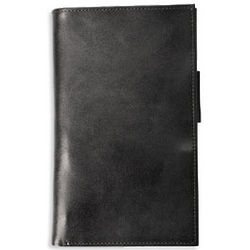Distressed Leather Pocket Currency Wallet